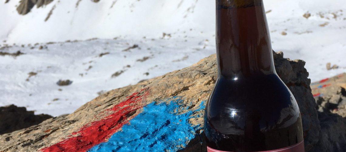 Gypiere Chambeyron Catherine Ribart Défi bière sauvage ubaye Février 2020