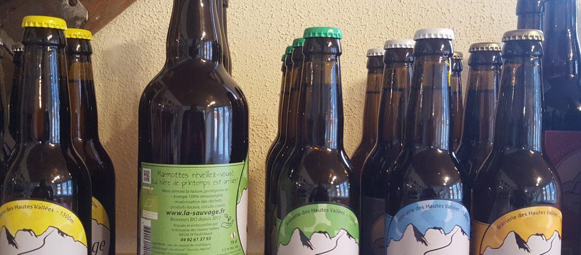 bière printemps la sauvage ubaye brasserie des hautes vallées